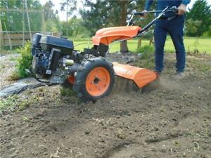 Rotavator Attachment for Warrior | Two Wheeled Tractor | Rotavator | Tiller