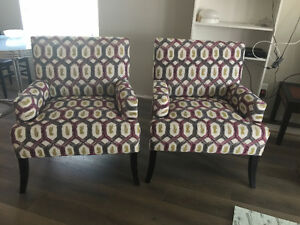 New Chairs Never Used