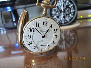 Hamilton 956 Pocket Watch from 1915 London Ontario image 6