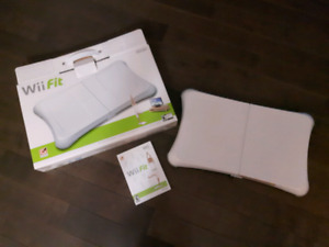 Wii fit board and disk