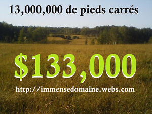 HUNTING LAND FARMING LAND - 303 ACRES - 133,000$ FIRM