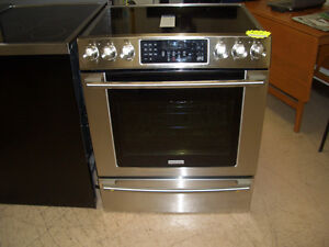 """Electrolux 30""""  Front Control Freestanding Range Now $1999"""