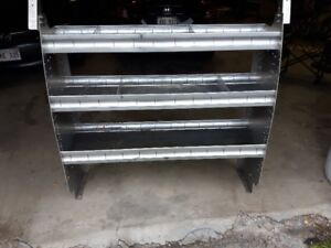 Action Truck & Accessories Full Size Van Shelving Units
