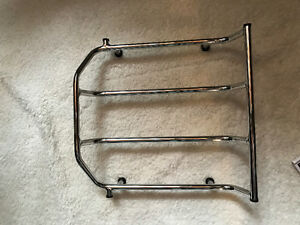 Harley Davidson Tour Pak Chrome Rack (modified)