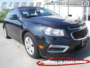 2015 Chevrolet Cruze LT Turbo **LOCALLY OWNED!! REARVIEW CAMERA!