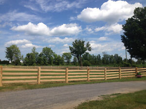 Agricultural Fence Installation - Many Styles