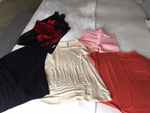 Multiple Women's Size Small and Medium Tops & Shorts