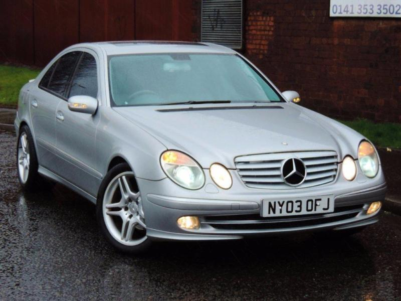 2003 mercedes benz e class 3 2 e320 cdi avantgarde 4dr in glasgow gumtree. Black Bedroom Furniture Sets. Home Design Ideas