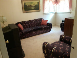Couch set. Love seat. Chair. Couch. Free!