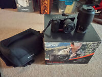 Sony Alpha a6000 w 16-50mm, 55-210mm & Offical bag combo