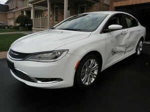 2016 Chrysler 200-Series Limited Sedan damaged easy repair