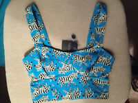 Topshop NEW crop top size 8