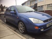 Ford Focus Zetec 1.8 - T39 UMA - alloys and full custom rally suspension, blacked out windows