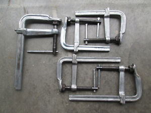 5 Lightly used Bessy Clamps