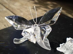 Swarovski Crystal Butterfly and Snails Figurines Kitchener / Waterloo Kitchener Area image 5