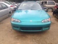 Parting out 94 civic coupe and more!!!