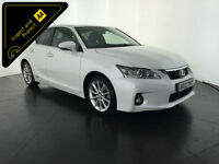 2012 LEXUS CT200H SE-L AUTO HYBRID 1 OWNER SERVICE HISTORY FINANCE PX WELCOME