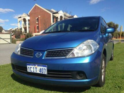 cheappest $6600 Nissan Tiida Hatchback Bentley Canning Area Preview