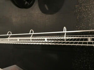 wire shelves and racks - various lengths