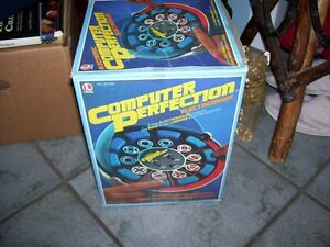 Vintage Computer Perfection  Game in box  - works