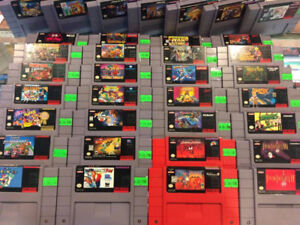 Snes Games! Turtles in Time Mario Kart Donkey Kong Country 1-3+