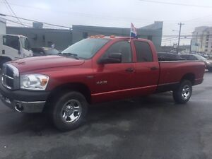 2008 Dodge Ram, Crew with 8ft box, Inspected