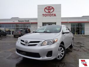 2012 Toyota Corolla 46630KMS! CE ONE OWNER CLEAN CARPROOF