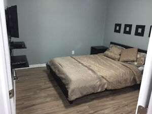 Furnished Room with walkin in 2 bedroom suite in southside