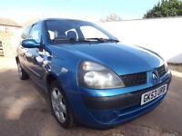 Renault Clio 1.2 16v Dynamique 2003 55000 MILES