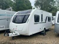 2014 Swift Challenger Sport 514, 4 Berth Caravan with Fixed Double Bed