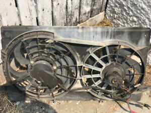 Ford twin cooling fan ideal for small or big block Chevy