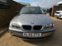 2005 55 E46 BMW 320d SE Touring 2.0 TD 150 BHP 6 SPEED FMBWSH 117K MINT CAR A1