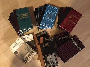 Lot de livres à vendre