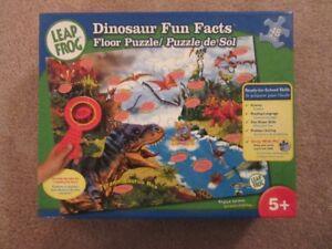 Leap Frog Dinosaur Fun Facts Floor Puzzle