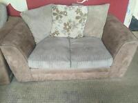 3,2,1 sofa's+foot stool