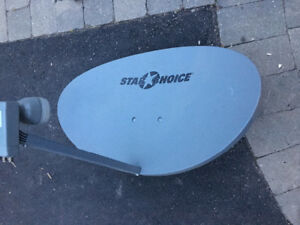Star choice dish (Shaw direct)