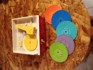 vintage fisher price record player