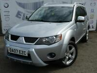 2007 MITSUBISHI OUTLANDER INTENSE WARRIOR H-LINE DI-D 4X4 7 SEATS 18 INCH ALLOY
