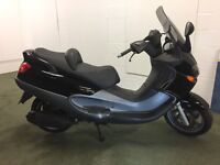 Piaggio X9 125, Maxi scooter, delivery, clean, low miles