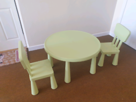 Ikea Children's Play Table