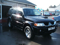 2006 Mitsubishi Shogun Sport 2.5TD Trojan 4x4 **Full Leather / 94k**