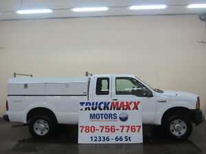 2007 Ford F-250 XL Supercab 4x4 With Service Body Edmonton Edmonton Area image 1