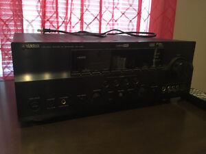Cinema maison Yamaha RX-V861, 7.1 canaux X 105 watt+speakers