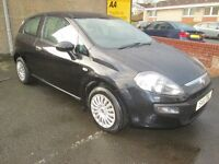 Fiat Punto 1.2 8V ACTIVE - BUY NOW PAY IN 6 MONTHS - (black) 2011