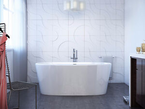 Bains autoportants massifs/solid free-stand bath-tubs Mirolin