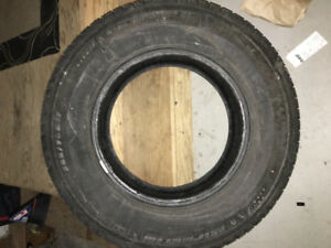 Winter Tire Michelin 265/75R 16            50% Tread