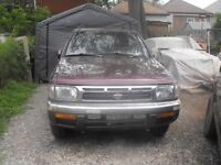 96' Pathfinder wind shield installed new with antenna built in