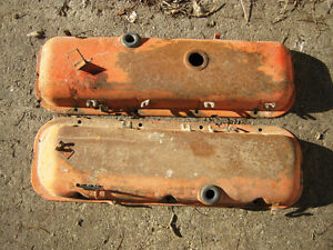 396 Chevrolet Big Block Oil Pan Valve Covers Regina Regina Area image 5