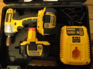 Used Dewalt cordless drill and impact