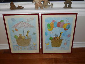Pictures for Baby or childrens room
